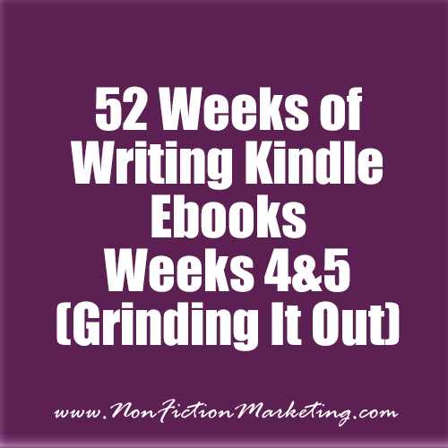52 Weeks of Kindle Ebooks - Weeks 4 and 5
