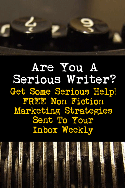 Signup for our non fiction book marketing newsletter