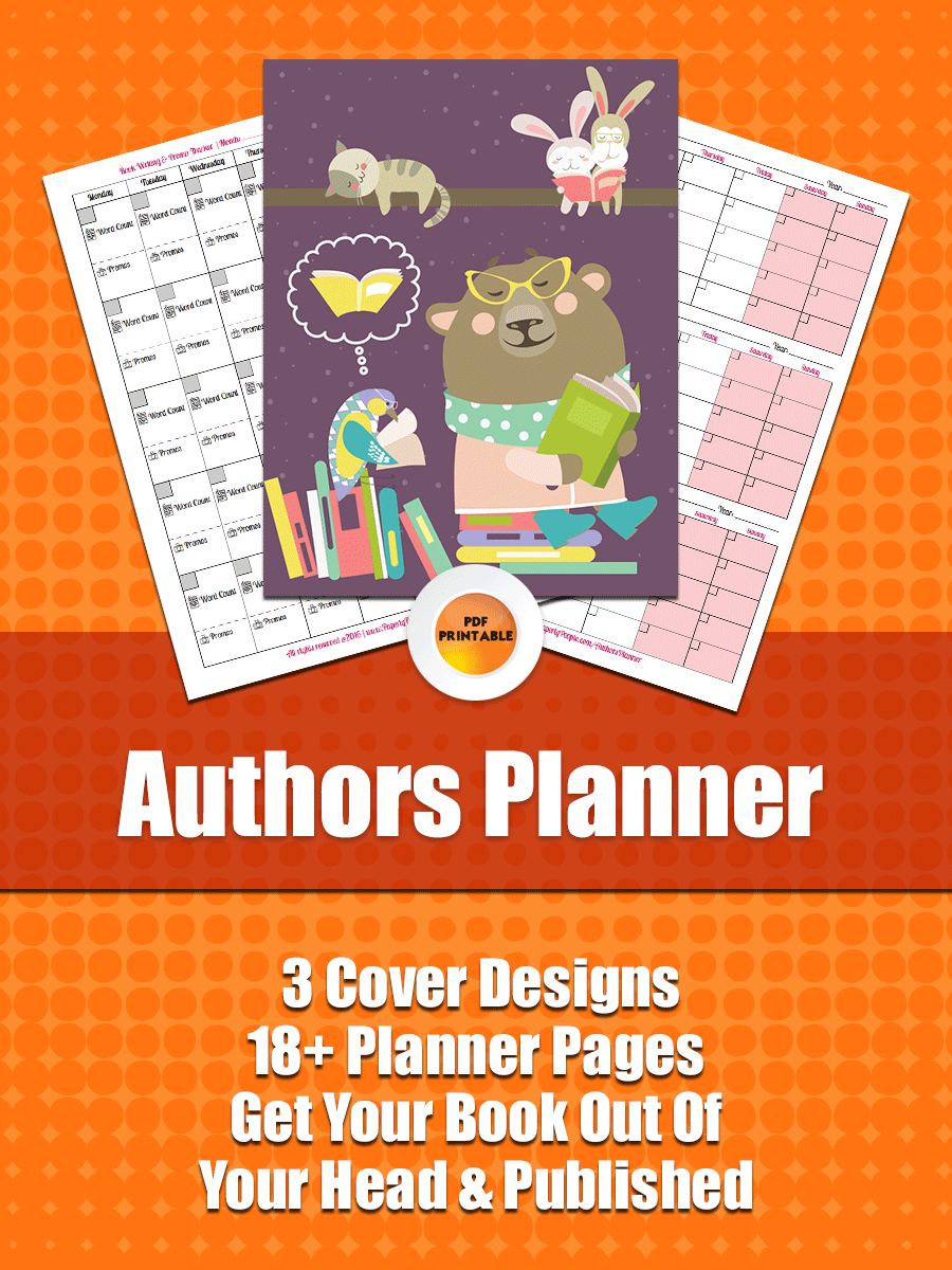 Authors Planner - Paperly People